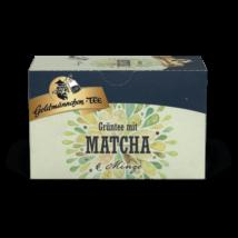 Goldmännchen Grüntee - Matcha & Menta zöld tea