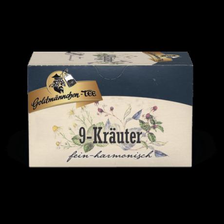 Goldmännchen 9-Kräuter filteres gyógytea