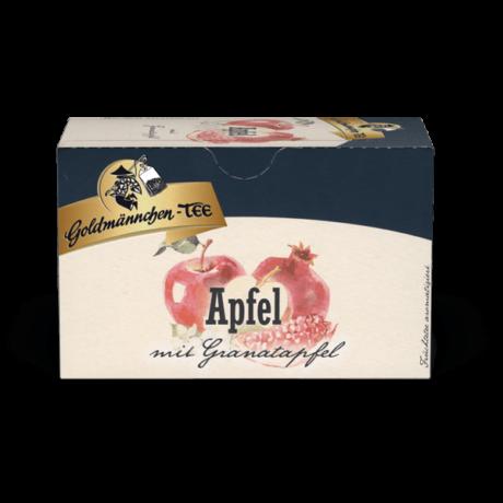 Goldmännchen Apfel - Alma & Gránátalma filteres gyümölcstea