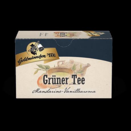 Goldmännchen Grüner Tee - Mandarin & Vanília ízű zöld tea