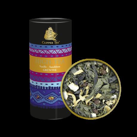 Goldmännchen High Tea - Grüntee Vanília & Homoktövis szálas zöld tea
