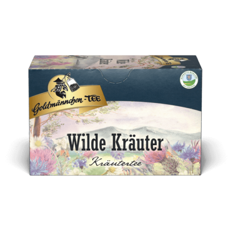 Goldmännchen Wilde Kräuter filteres gyógytea