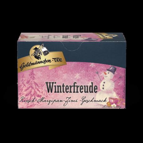 Goldmännchen Winterfreude - Cseresznye & Marcipán & Fahéj filteres gyümölcstea
