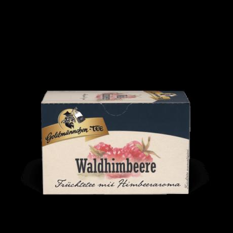 Goldmännchen Waldhimbeere gyümölcstea